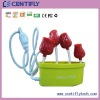 4 port usb hub rose shape