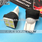 T10 4 SMD 5050 LED Brake Bicycle Turn Signal Light Bulbs White (2-Pack) DZ-259