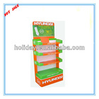 cardboard detergent display stand, 4 layers display stand