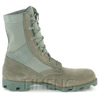 Lightweight hot weather Sage green Boots for police