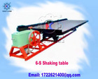 6-S shaking table, Gold Mining equipment Gold Refining Equipment