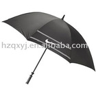 nylon fabric metal shaft golf umbrella