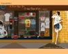 DIY/Digital Oil Painting of shopping girl