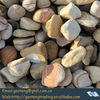 rainbow tumbled pebble stone price (for landscaping decoration,customizable sizes)