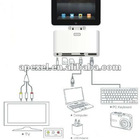 5 in 1 camera connection for ipad/CE RoHS Camera connection kit for ipad 3 with card reader