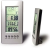 LCD clock with Weather Station