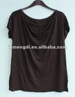 Women's short sleeve linen t-shirt