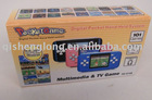 HG-810BB 2011 PORTABLE TV GAME PLAYER WITH RICHEST GAME, IN 16 BITS CPU, AV OUTPUT FUNCTION