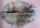 CD005 Very popular All kinds of raccoon dog fur collar in europe