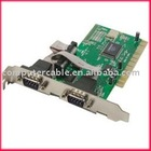 PCI to Serial 2 port DB9 Controller Card