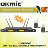 OK-9300 Dual Channels/UHF PLL 32/96 ,True Diversity