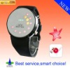 2011New style Creative circular fashion watch mirror LED BALL watch