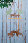 Garden Decoration_Metal Outdoor Scenic Chime_Horse