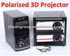 Electronic Keystone 1080P HDMI VGA LCD LED Video Polarized 3D Projector