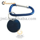 Well-designed Round Brand Carabiner Keychain for promotion