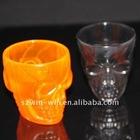 PP plastic Halloween skull cups