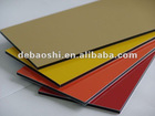 decorative facade panels with PE or PVDFcoated