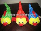 lovely plush clown fish toy