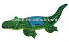 PVC inflatable kids crocodile rider,inflatable swimming rider