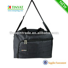 Fashion black travel bag with handle