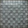 silver glass mosaic