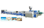Wood plastic composite pelletizing line