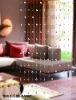 glass decoration,decoration curtain,home decoration, crystal curtain,decorative room divider