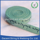 Printed letter stretch tape