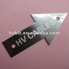 Engraving Arrow Marker Stainless Steel Plates