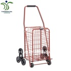 Climb Stair Small Size Red Shopping Cart(YD-A19-A1)