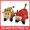2012 new pet cattle plush pillow