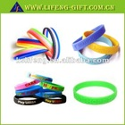 100% silicone bracelets wristbands