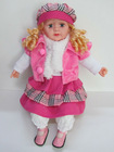 soft fashion doll,plastic doll, talking doll