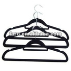 2012High quality Black Suits ABS plastic hanger & coat hangers