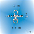 Fashion high quality metal small swivel hook