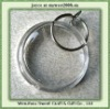 round acrylic keyring for promotional gifts