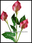 3 heads artificial calla lily flower