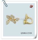 yellow gold ring(QXRG12320)