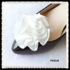 bridal shoe flower shoe clip