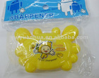 Plastic pencil sharpener for kids