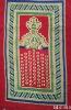 Cosy Black Cotton Muslim Prayer Carpet BLC-015