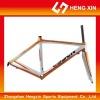 HX01 green/black mountain bike frame