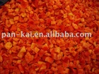 IQF Red pepper dices