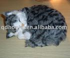 sleeping cat toy