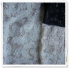 New fancy embroidery fabric with sequins,Crewel Embroidery on lace fabric