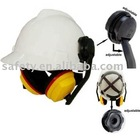 Safety Helmet with Earmuff