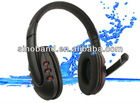 Wireless headphones/headset with microphone