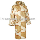 Military Raincoat, Desert Camouflage Raincoat Manufacturer