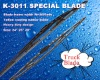 K-3011 volvo truck wiper blade, frame width 16.5mm