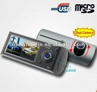 Dual Lens car DVR GPS car tracker
